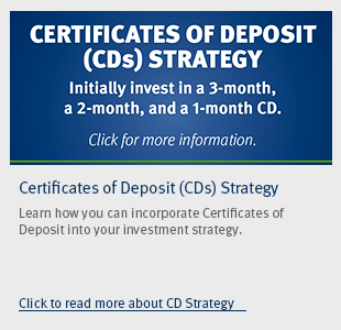 Certificates of Deposit Strategy Flyer