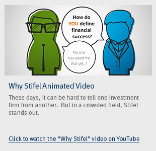 Why Stifel Video Button